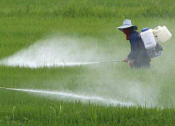 Загадување со пестициди
